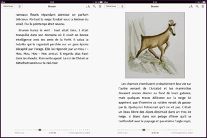 Ebook : texte et illustration